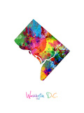 Washington DC  District of Columbia Map