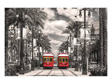 New Orleans Streetcars Reproduction d'art