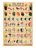 Sushi Reproduction d'art