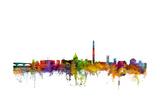 Washington DC Skyline Giclée premium par Michael Tompsett