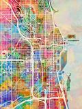 Chicago City Street Map