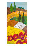 Tuscan Triptych A