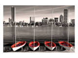 Boston Marina Reproduction d'art