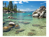 Clear Emerald Lake Tahoe