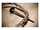 Jesus Crown of Thorns & Nail