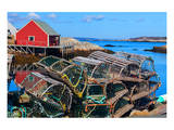 Lobster Traps Peggy's Cove NS