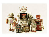 Collection Small &Large Robots
