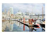 Granville Isld Harbor Vancouver