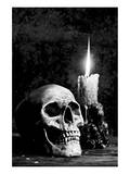 Skull Candle Black & White