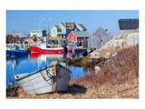 Peggy's Cove Nova Scotia Coast
