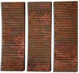 Adara Copper Wall Art Set