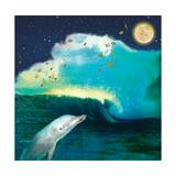 Over The Ocean Reproduction d'art par Nancy Tillman