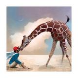 If You Were A Giraffe Reproduction d'art par Nancy Tillman