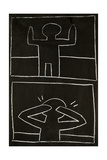 Haring - Subway Drawing Untitled - 20