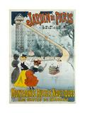 Jardin De Paris  Water Coaster also known as Niagara Falls