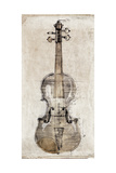 Violin Study  Front