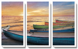 Rainbow Armada Tableau multi toiles par Celebrate Life Gallery