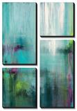 Lily Reflections Tableau multi toiles par Wani Pasion