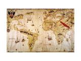 Vespucci's World Map  1526