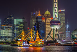 China  Shanghai  Pudong District  Financial District Including Oriental Pearl Tower