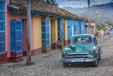 Cuba  Trinidad  Classic American Car in Historical Center