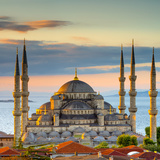 Turkey  Istanbul  Sultanahmet  the Blue Mosque (Sultan Ahmed Mosque or Sultan Ahmet Camii)