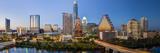 City Skyline Viewed across the Colorado River, Austin, Texas, Usa Papier Photo par Gavin Hellier