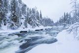River  Juuma  Oulankajoki National Park  Kuusamo  Finland
