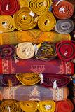 Morocco  Marrakech  Carpets in Market