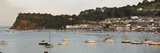 Evening on the Ness Headland  the Village of Shaldon and the Mouth of the River Teign  Devon