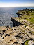 Cliffs at Dubh Cathair on the Aran Island of Inishmore