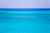 The Turquoise Waters of Grace Bay  and the Atlantic Ocean Beyond