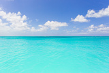 The Turquoise Waters of Grace Bay in the Turks and Caicos Islands