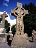 Muiredagh's High Cross at Monasterboice  County Louth  Ireland
