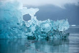An Iceberg from Le Conte Glacier Near Petersburg  Inside Passage  Alaska