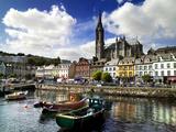 Cobh Harbour  County Cork  Ireland