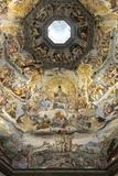 Dome Fresco of the Last Judgement by Giorgio Vasari and Federico Zuccari Inside the Duomo