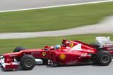 Fernando Alonso Exits Turn 15