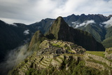Machu Picchu  UNESCO World Heritage Site  the Sacred Valley  Peru  South America