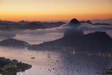 Sugarloaf Mountain (Pao De Acucar) at Dawn  Rio De Janeiro  Brazil  South America