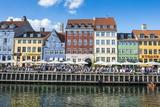 Nyhavn  17th Century Waterfront  Copenhagen  Denmark  Scandinavia  Europe