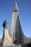 Hallgrimskirja Church  Reykjavik  Iceland  Polar Regions