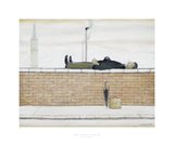 Man Lying On A Wall  1957