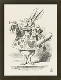 The White Rabbit in Herald's Costume