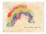 Brighten Your Day Reproduction d'art par Paula Mills