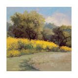 Plein Air Lavender and Yellow