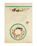 Sketch for a Cup and Saucer  1920