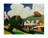 Landscape with Locomotive  1909