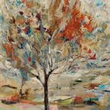 Red Bird Tree Giclée par Jodi Maas
