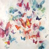 Flutterby Wisps Giclée par Farrell Douglass